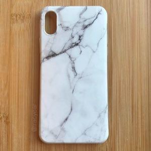 Accessories - NEW Iphone X Marble Granite Stone Soft Case